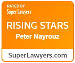 Super Lawyers Badge - Peter S Nayrouz